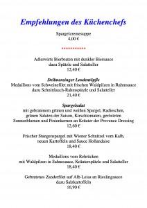 Empfehlungen des Küchenchefs PDF